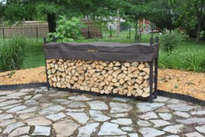 Woodhaven 8Ft Firewood Rack