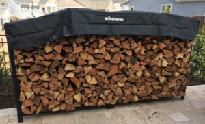 Wood Haven 8 Ft Firewood Rack