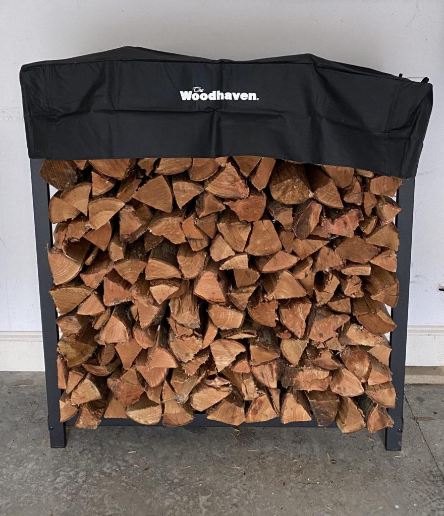 4ft Woodhaven Kiln Dried Firewood Rack - CLT Firewood
